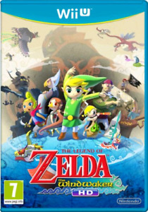 THE LEGEND OF ZELDA WIND WAKER WII U NINTENDO