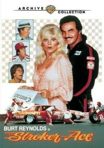 STROKER ACE {NEW DVD} Burt Reynolds Lonnie Anderson