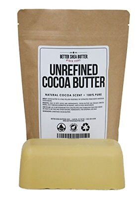 Organic Cocoa Butter Better Shea Best for DIY Skin Care Recipes 1 LB 16