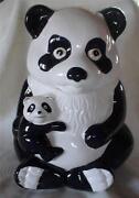 Panda Cookie Jar