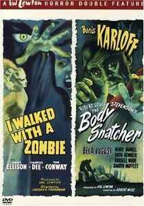 I Walked With A Zombie/The Body Snatcher dvd-New/sealed