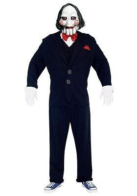 CSS Saw Productions Jigsaw Puppet PMG Halloween costume adult size medium M BN](Halloween Css)