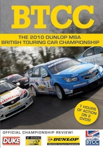 BTCC British Touring Car Championship - Official Review 2010 (2 DVD set) New