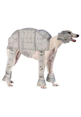Dog STAR WARS ATAT AT-AT Imperial Walker GREYHOUND/LURCHER COSTUME Large - Greyhound Kostüm