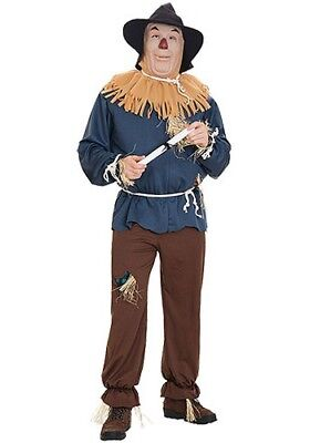 USED-Adult Scarecrow Costume SIZE M - Adult Scarecrow Costumes