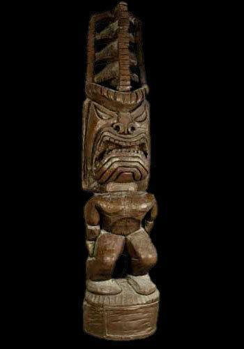 Tiki Statue Large   eBay