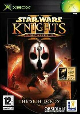 Star Wars Knights of the Old Republic II: The Sith Lords (Xbox) with manual