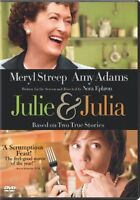 Julie & Julia DVD   Previously viewed-very good condition!