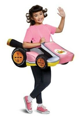 Mario Kart PEACH Ride-In 3-D Foam Costume One Size Child Halloween Dress Up](Mario Kart Halloween Costumes)