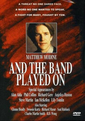 And the Band Played On (2009, REGION 1 DVD New) CLR/CC/Hifi