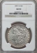 1897 O Morgan Silver Dollar