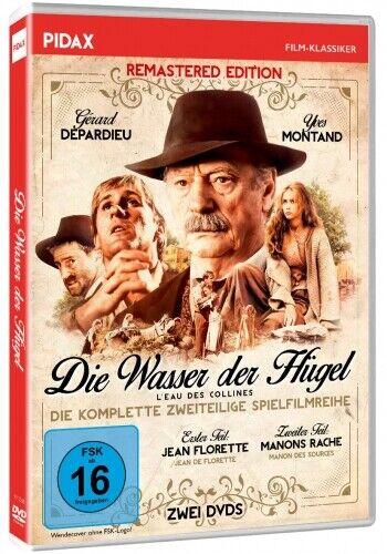 Die Wasser der Hügel * DVD  Yves Montand Gérard Depardieu * Pidax
