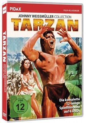 Tarzan - Johnny Weissmüller Collection * DVD Tarzan-Abenteuer Pidax Film