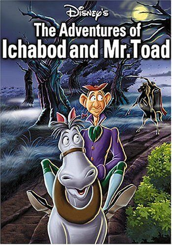 The Adventures Of Ichabod And Mr. Toad (Disney) New DVD R4