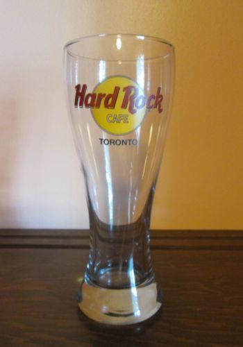 Hard Rock Cafe Beer Glass Ebay