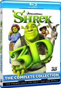 Shrek 3D Blu-ray The Complete Collection (all 4 Part In 4disc) ship From NewYork