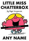 Little Miss Chatterbox T Shirt