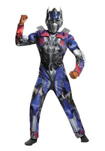 Transformer Muscle costume age 8-10
