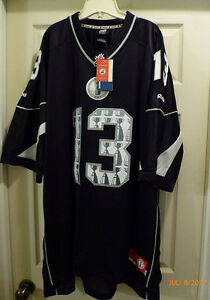 New ** CFL 101 Saskatchewan 2013 Grey Cup Reebok Jersey 3XL