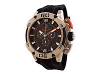 ISW MEN'S CHRONOGRAPH STAINLESS STEEL SILVER WATCH ISW-1001-01 NEW