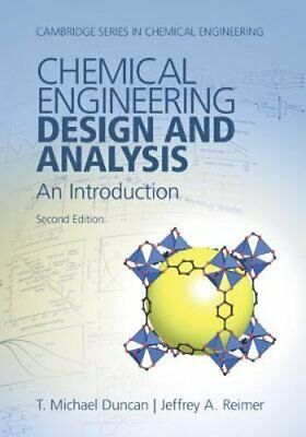 Chemical Engineering Design and Analysis: An Introduction by T. Michael (Chemical Engineering Design And Analysis An Introduction)