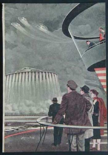 How Flying Saucer Works by Willy Ley 1956 Coanda effect