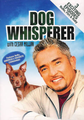 Dog Whisperer with Cesar Millan: 3 Episodes (DVD, 2004) - Brand New
