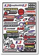 Motorcycle Sponsor Decals