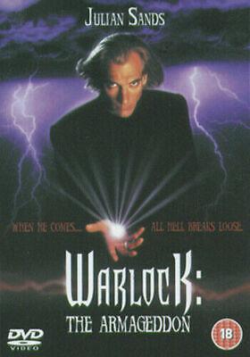 WARLOCK THE ARMAGEDDON DVD NEW SEALED JULIAN SANDS UK EUR REGION 2