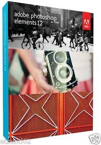 Brand NEW Adobe Photoshop Elements 12 for PC & MAC in Retail Box