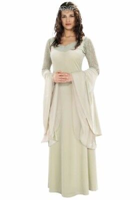 CAPE INCLUDED! Lord Of The Rings Deluxe Queen Arwen Adult Costume Standard
