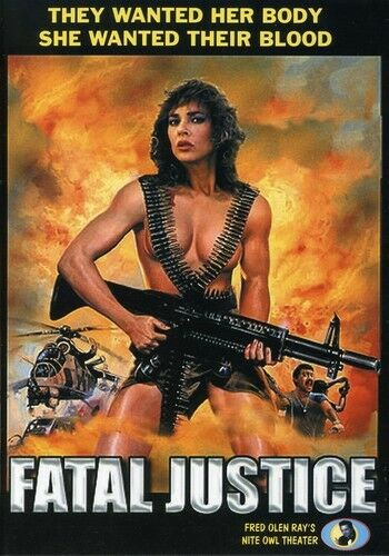 Fatal Justice [new Dvd]