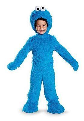 Sesame Street - Cookie Monster Deluxe Infant/Toddler Costume - Infant Cookie Monster Costume