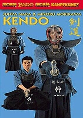 Japanese Kendo 2 DVD Set Naka Morikawa samurai sword fighting sport