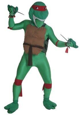 Adult Teenage Mutant Ninja Turtles TMNT Red Raphael Costume Size Standard (Used) - Female Tmnt Costume