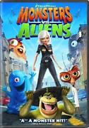 Monsters vs Aliens DVD