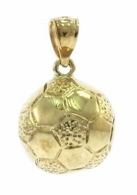 14kt Yellow Gold Soccer Ball Charm 14kt Gold Soccer Ball Charm