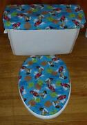 Toilet Cover Set