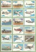 Cigarette Cards Set