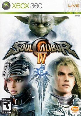 Soul Calibur IV (Xbox 360) - Game  LWVG The Cheap Fast Free Post