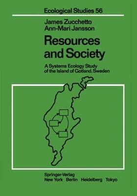 Resources and Society: A Systems Ecology Study , Zucchetto, James,, for sale  Shipping to South Africa
