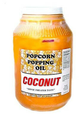 Popcorn Machine Supplies - Coconut Oil Popcorn Popping