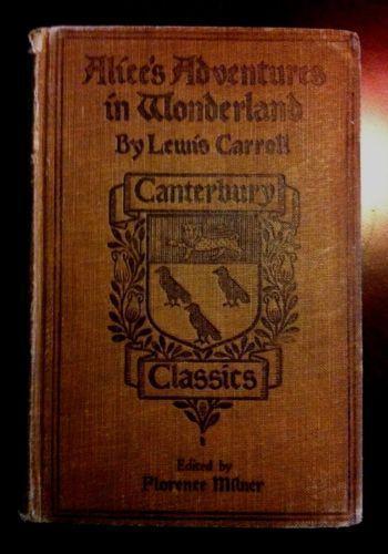 Alice In Wonderland Rare Book Ebay