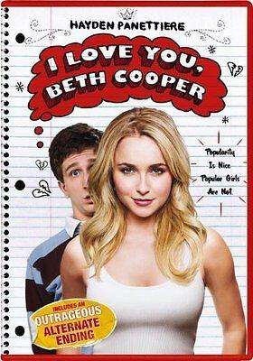 I Love You  Beth Cooper Dvd