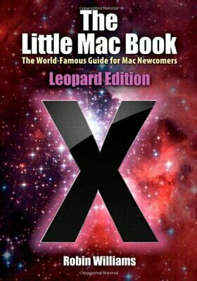 Used, The Little Mac Book, Leopard Edition (Little Book) by Williams, Robin Paperback for sale  Shipping to India