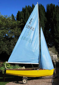 Enterprise sailing dinghy