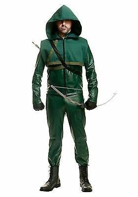 Charades Green Arrow Halloween Cosplay Dc Comic Books Cw Adult Mens Costume - Halloween Costumes Green Arrow