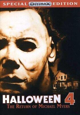 Halloween 4: Return of Michael Myers [New - Halloween Dvds