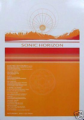 Sonic Horizon Poster  Concert Info   S13