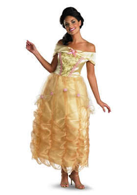 Damen Adult Licensed Disney Prinzessin Dlx Belle - Prinzessin Adult Kostüm